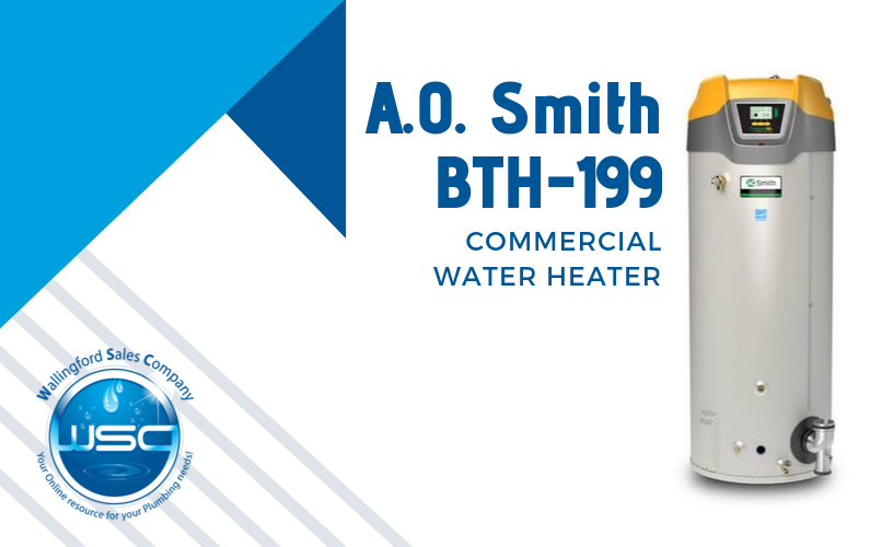 A.O. Smith BTH-199 Commercial Water Heater