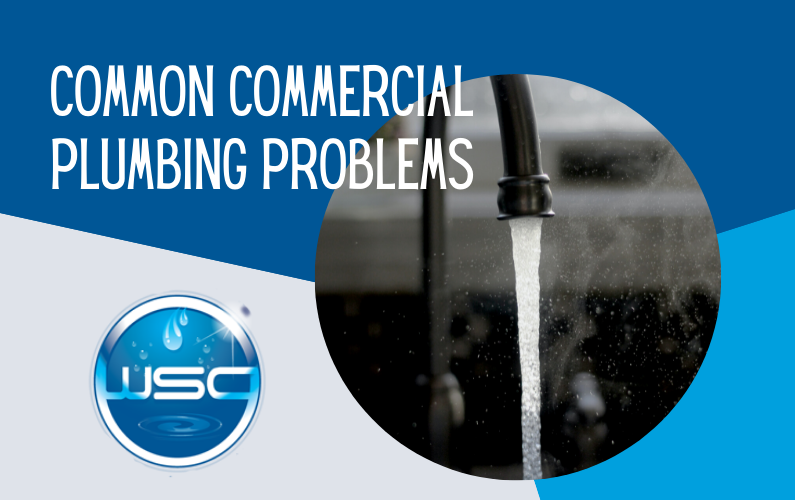 Common Commercial Plumbing Problems
